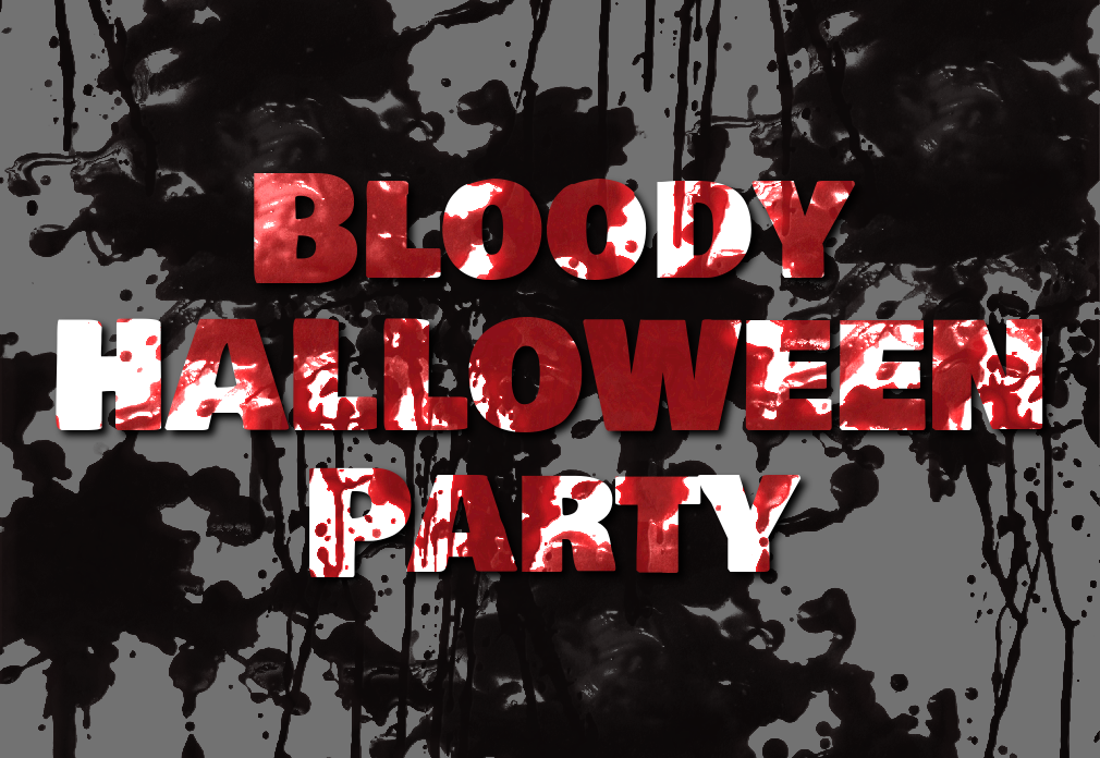 Bloody Halloween Text Effect