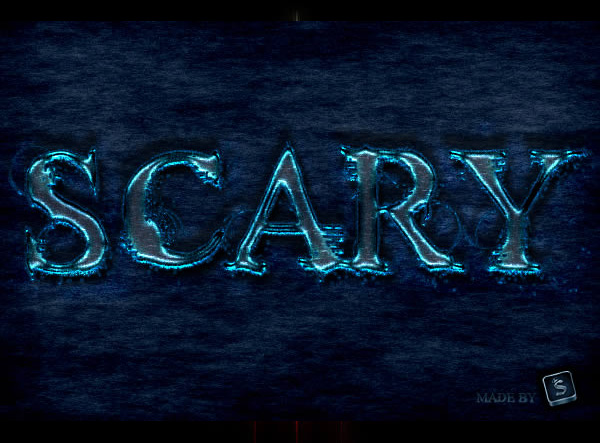 Create a Scary Text Effect in Photoshop