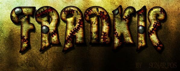 Frankenstein text style in Photoshop