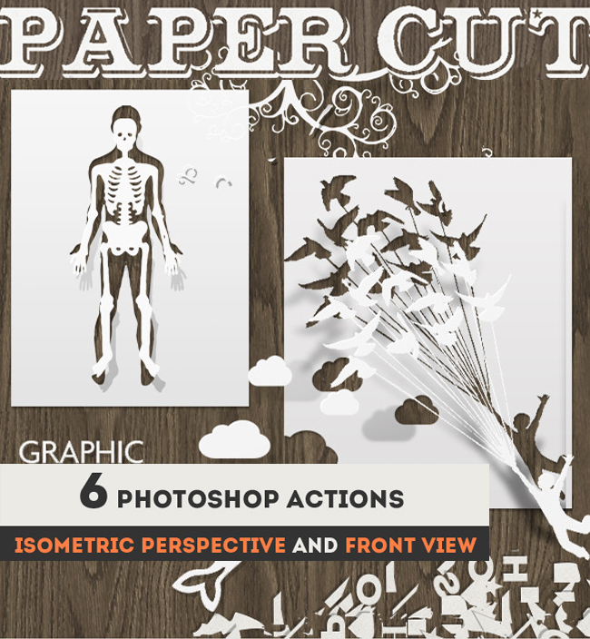 Paper Cut Art Photoshop Actions