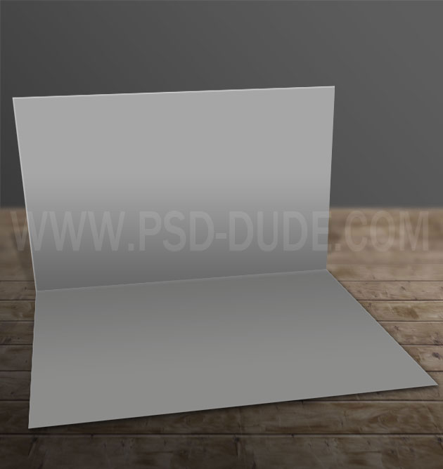 greeting card template open
