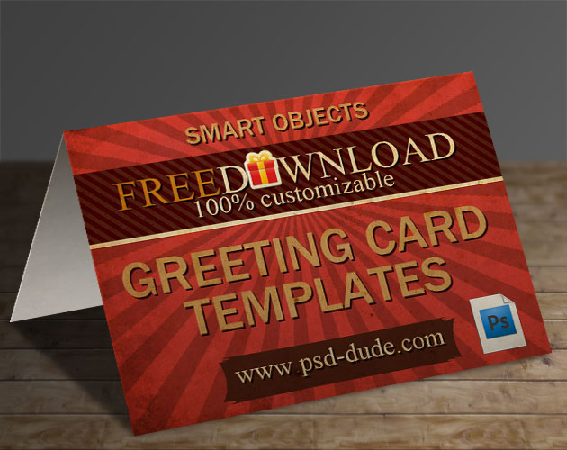 3 greeting card templates with photoshop free psd file psddude these greeting card templates come with fully layered psd file with layer styles intact so you have full control to customize as you like m4hsunfo