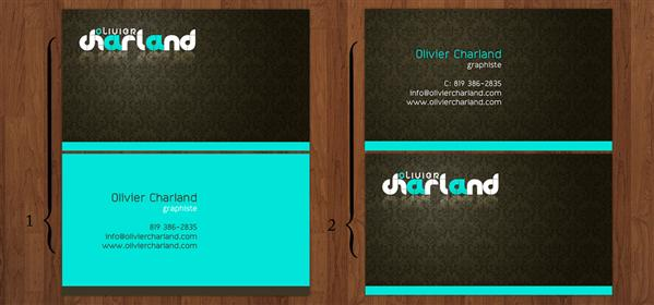Business card by 1ceGoD photoshop resource collected by psd-dude.com from deviantart