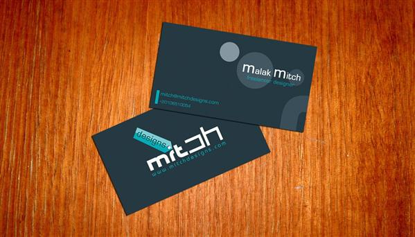 Business card idea by mitch2004 photoshop resource collected by psd-dude.com from deviantart