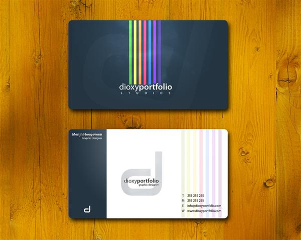 business card v2 by DesignersJunior photoshop resource collected by psd-dude.com from deviantart