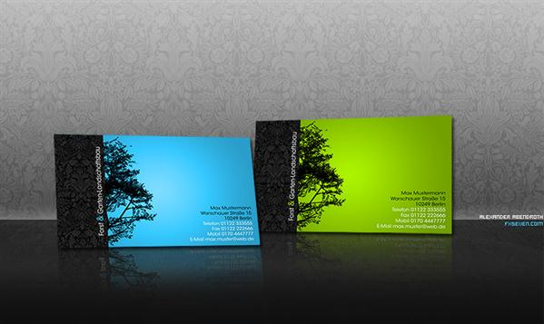 Business Card Wood by fxseven photoshop resource collected by psd-dude.com from deviantart