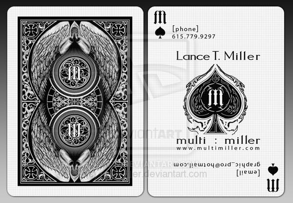 MultiMiller Playing Card By Multimiller Photoshop Resource Collected Psd Dude From Deviantart
