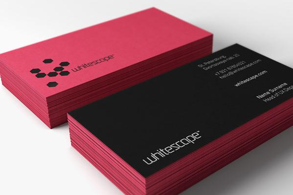 Whitescape Corporate Identity by  photoshop resource collected by psd-dude.com from Behance Network