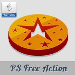 3D Photoshop Action Free Download psd-dude.com Resources
