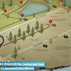 3D Map Photoshop Creator Premium Files psd-dude.com Resources