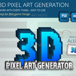 Best Of Pixel Art Photoshop @KoolGadgetz.com