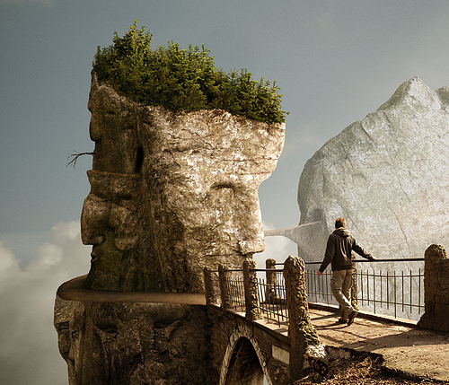 Photoshop photo manipulation by Mattijn Fransen - a tricky pass