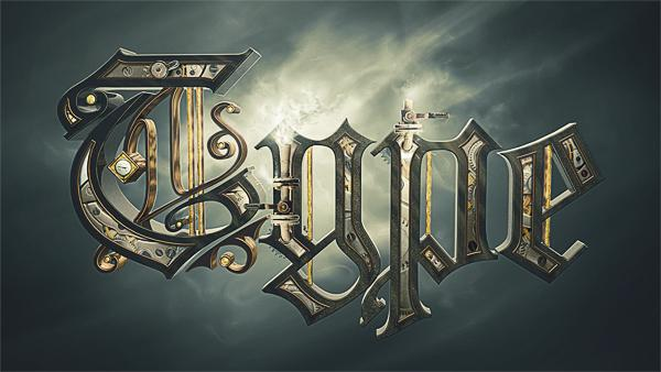 Steampunk Typography by Alex Beltechi; photoshop resource collected by psd-dude.com from Behance Network