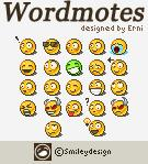 Wordmotes by sml-e photoshop resource collected by psd-dude.com from deviantart