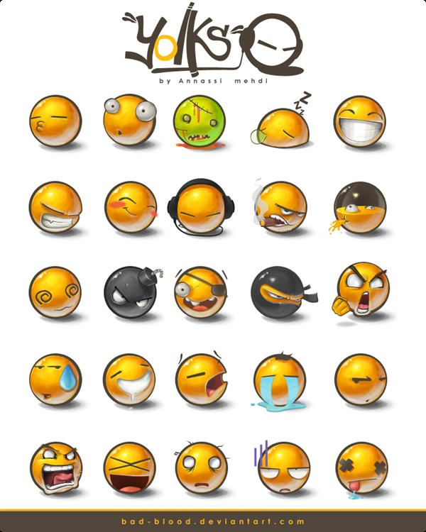 500 Chat Emoticons Free Download | PSDDude