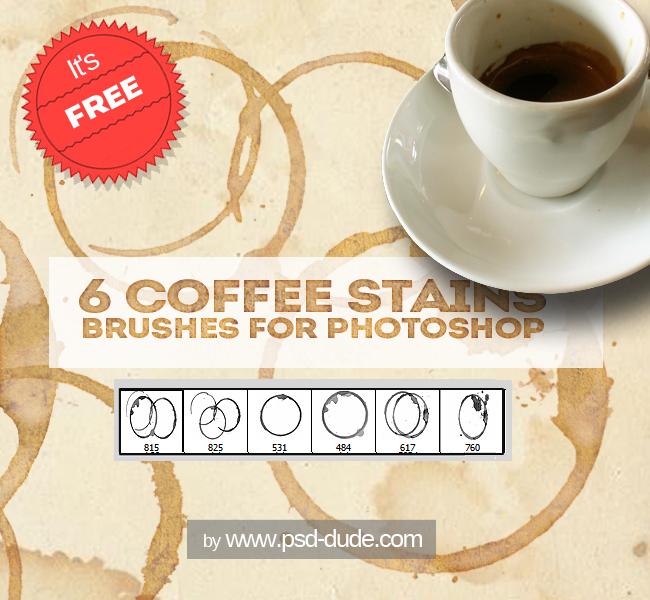 Coffee Photoshop Brushes