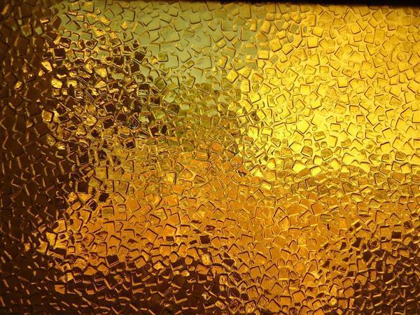 Golden Glass Texture