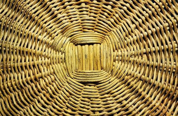 Reed basket texture