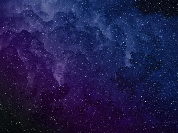 Space Background With Starfield Texture