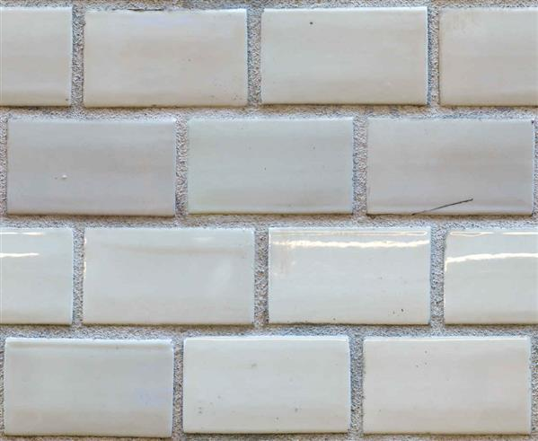 White ceramic tiles seamless