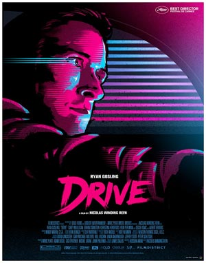 Drive 2011 Outrun Poster