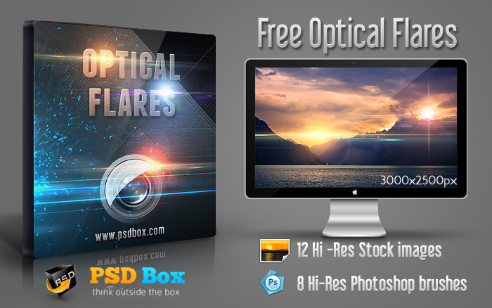 Optical Lens Flare Free Stock Image Download