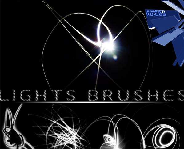Lights Brushes by reddeath-689 photoshop resource collected by psd-dude.com from deviantart
