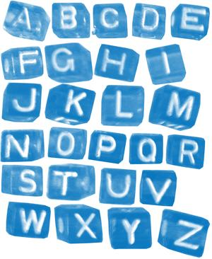 Alphabet Beads Brush Set by kookiekween99 photoshop resource collected by psd-dude.com from deviantart