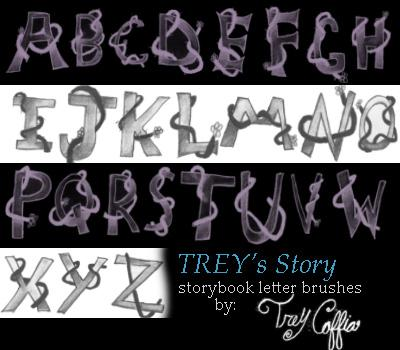 TREYs story by porcelainBRUSHES photoshop resource collected by psd-dude.com from deviantart