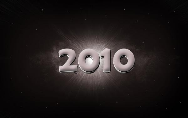 New Year 2010 Text effect in Photoshop