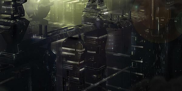 Microcity by David Fuhrer; photoshop resource collected by psd-dude.com from Behance Network