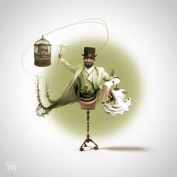 mad tailor by Maciek Morawski; photoshop resource collected by psd-dude.com from Behance Network