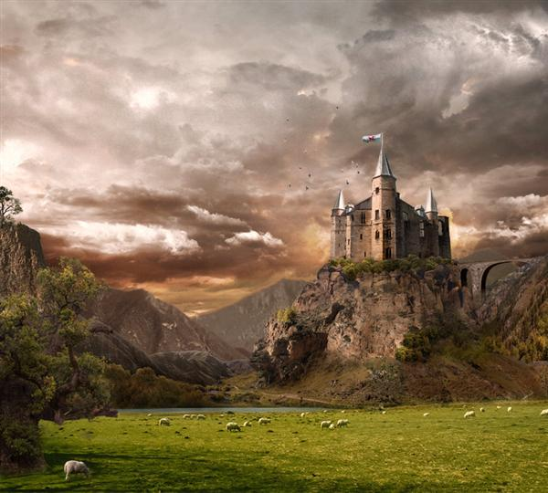 castle by Lotta-Lotos photoshop resource collected by psd-dude.com from deviantart