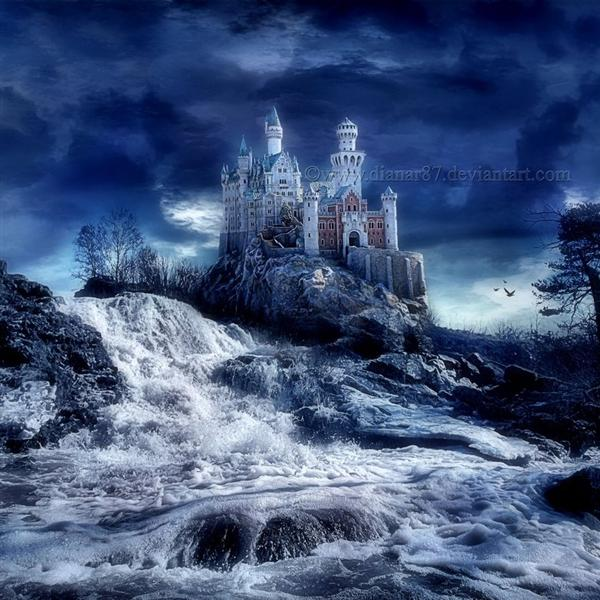 Castle Of My Dreams by dianar87 photoshop resource collected by psd-dude.com from deviantart