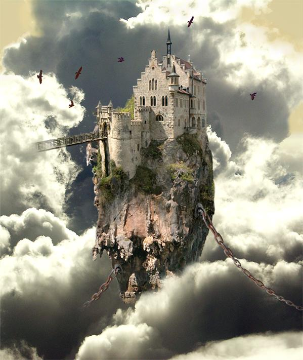 Charmed Castle by Sagitarii photoshop resource collected by psd-dude.com from deviantart