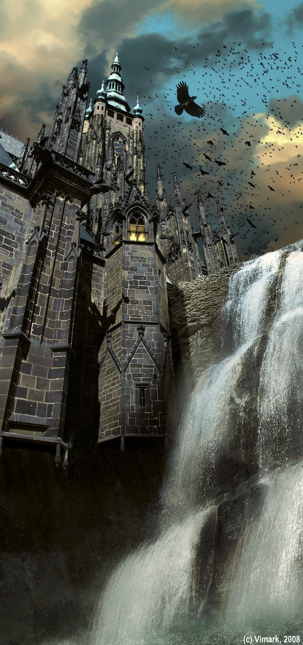 Dark Castle by vimark photoshop resource collected by psd-dude.com from deviantart