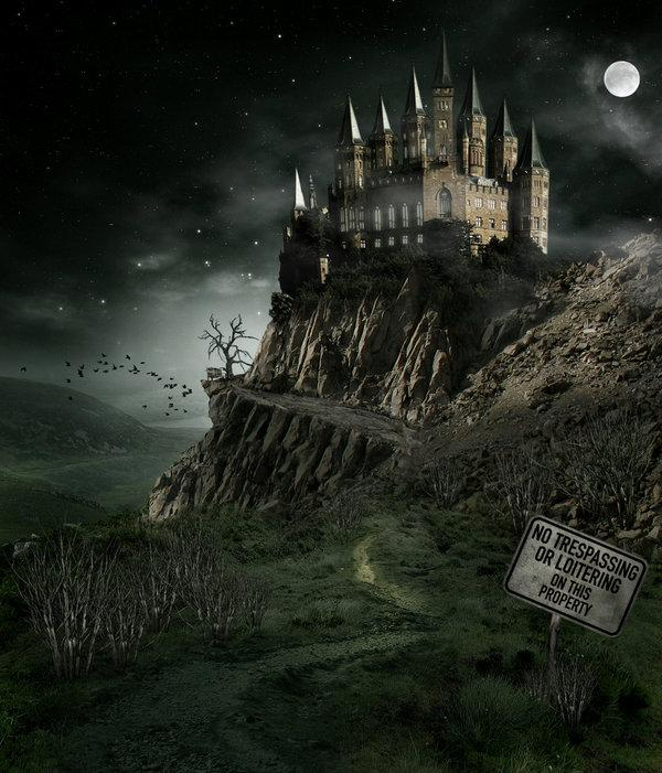 Richards Castle by royal-nightmare photoshop resource collected by psd-dude.com from deviantart