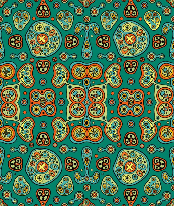 Patterns for SeeU by Evgeny Kiselev; photoshop resource collected by psd-dude.com from Behance Network