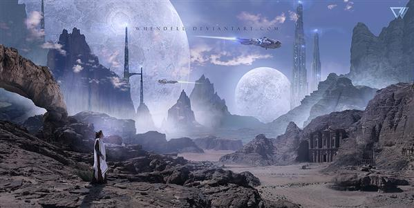 Alien Planet Sci Fi Manipulation