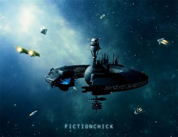 Space Station Sci Fi Photoshop Manipulation