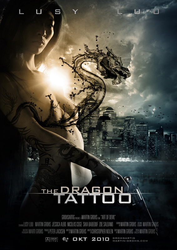 thedragontattoo by  photoshop resource collected by psd-dude.com from deviantart