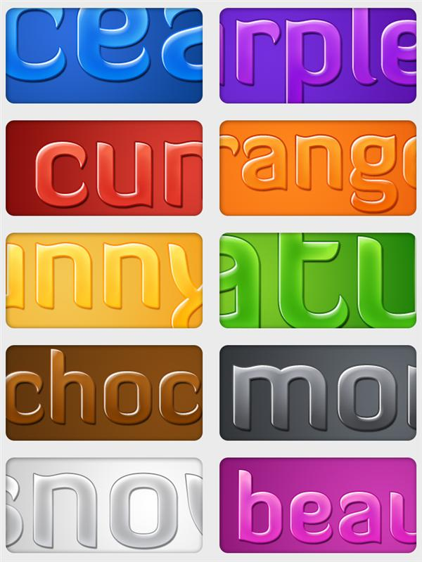 Glossy
