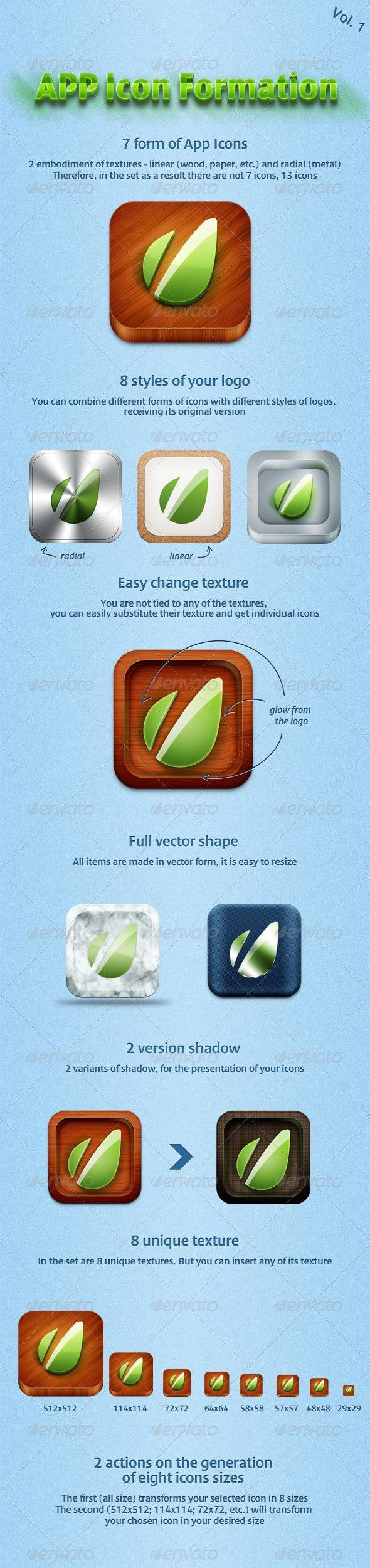 Android and IOS App Icon with PSD Files | PSDDude