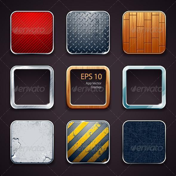 App Icons Backgrounds - Premium