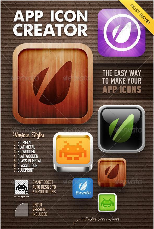 Icon Creator Generator for Apps - Premium