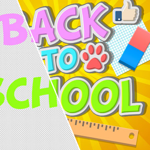 Free Back To School PSD Backgrounds and Brushes psd-dude.com Resources