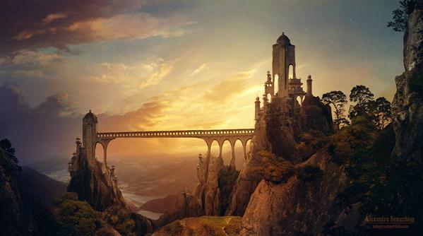 Beautiful Bridge Inspired Photo Manipulations Psddude