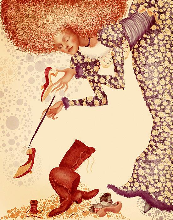 Children`s Book Illustrations by Julia Valeeva; photoshop resource collected by psd-dude.com from Behance Network