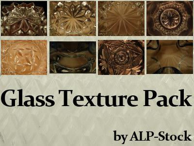 Glass Texture Pack by ALP-Stock photoshop resource collected by psd-dude.com from deviantart