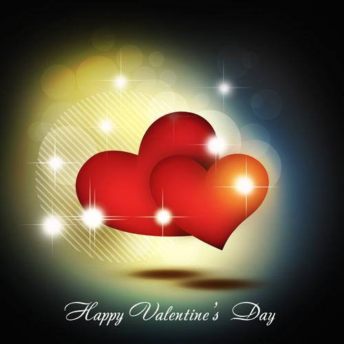 Create Shiny Red Hearts Wallpaper for Valentine Day in Photoshop